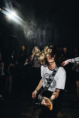 BREED at the launch party, 11/17 (by Mollie Yates)