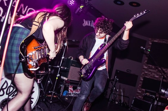 Calva Louise at the Issue Two Launch Party, 1/18 (by Anna Smith)