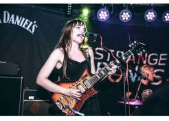 Calva Louise at the Issue Two Launch Party, 1/18 (by Sandy K Moz)