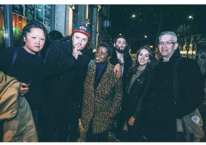 Legendary supporters of DIY music at Issue Two's launch party