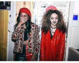 Nova Twins at the Issue Two Launch Party, 1/18 (by Sandy K Moz)