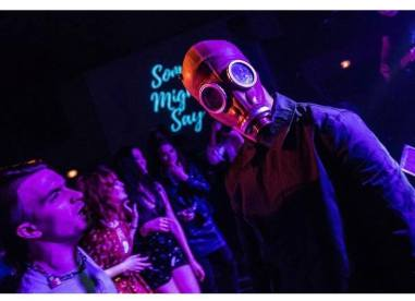 Strange Bones at the Issue Two Launch Party, 1/18 (by Danny Sargent)
